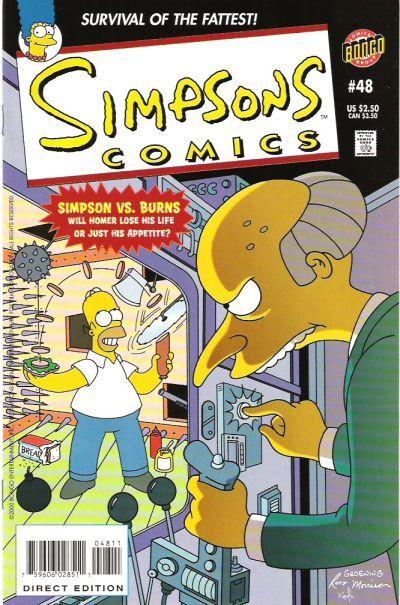 comics de los simpsons