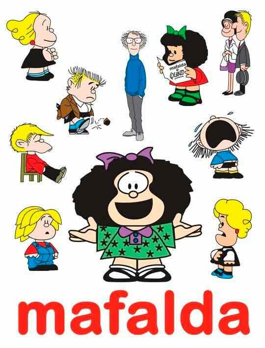 12 Historietas De Mafalda Y Sus Amigos Completas