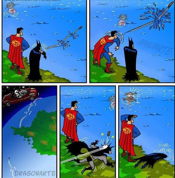 tiras comicas de superheroes