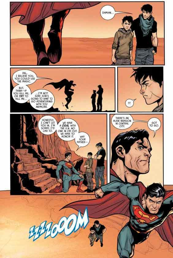 historietas de superman en ingles