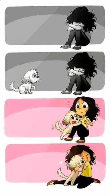 historietas con dibujos bonitos de amor