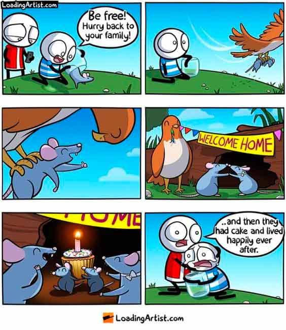 historietas en ingles de animales