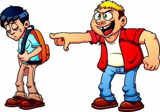 bulliyng caricatura
