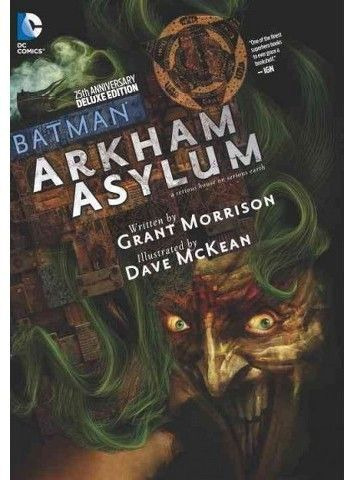 batman arkham comic