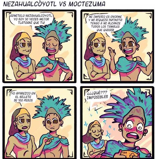 historietas de los aztecas