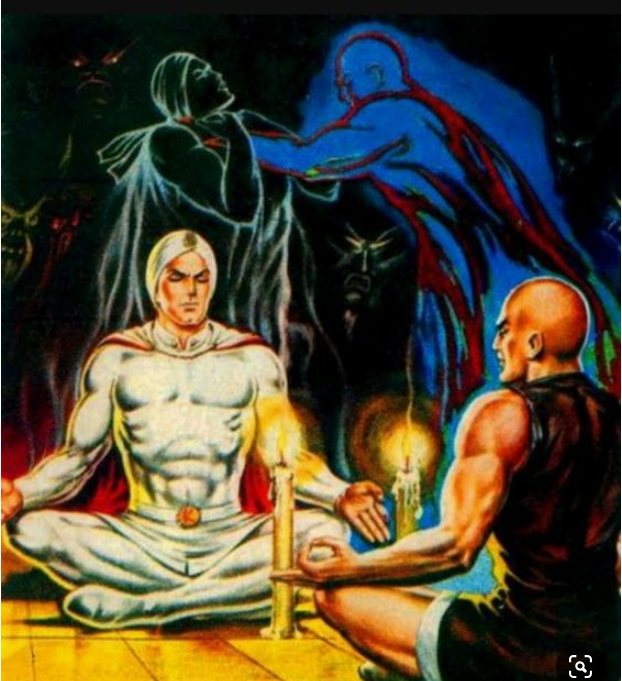 historieta de kaliman contra karma