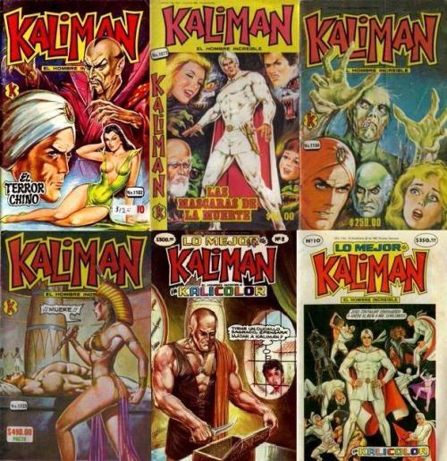 historietas de kaliman coleccion