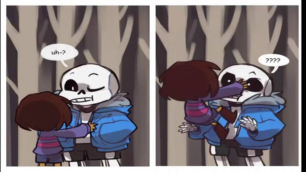 comics de undertale