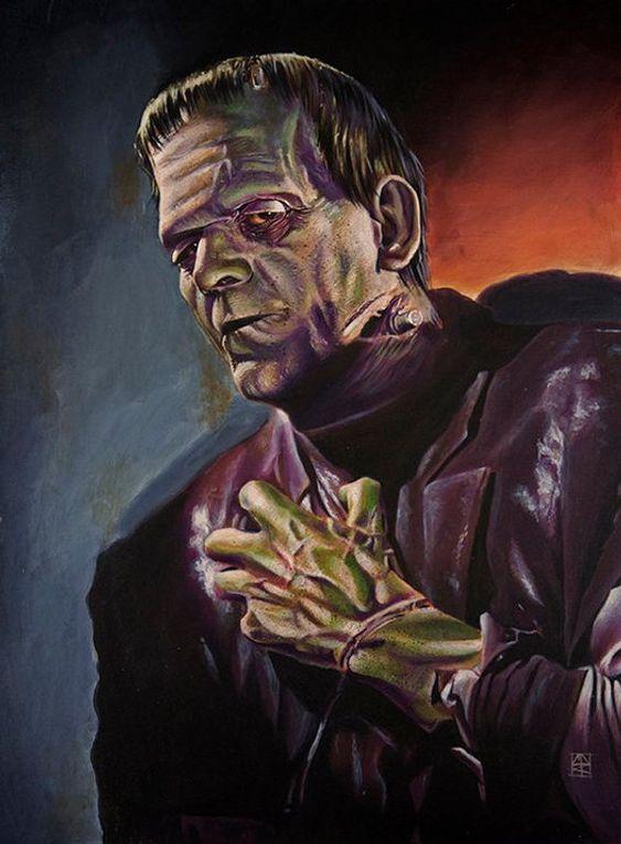 historietas de Frankenstein