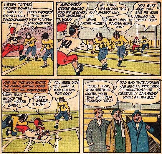 historieta de futbol americano