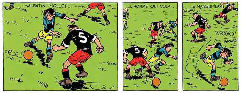 Historietas de futbol cortas