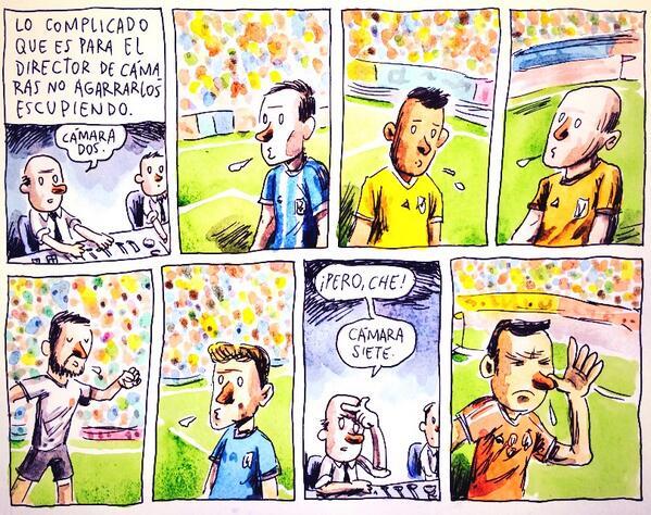 historietas de futbol graciosas