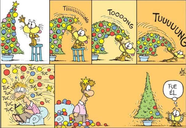 gaturro en navidad