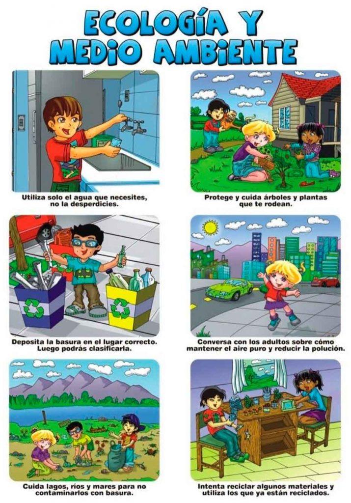 historietas del medio  ambiente
