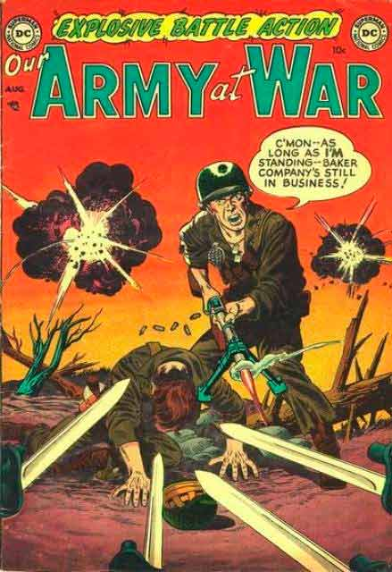 army at war comic