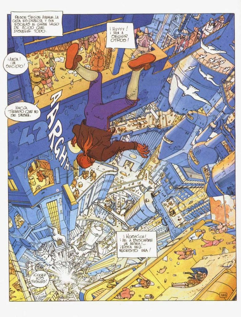 comic de El incal