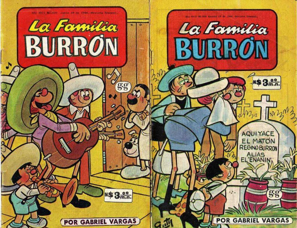comics mexicanos de burron