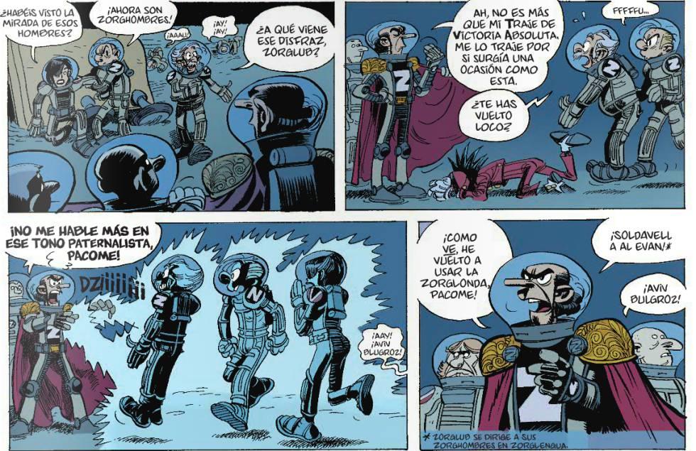 comics de ciencia ficcion cortos