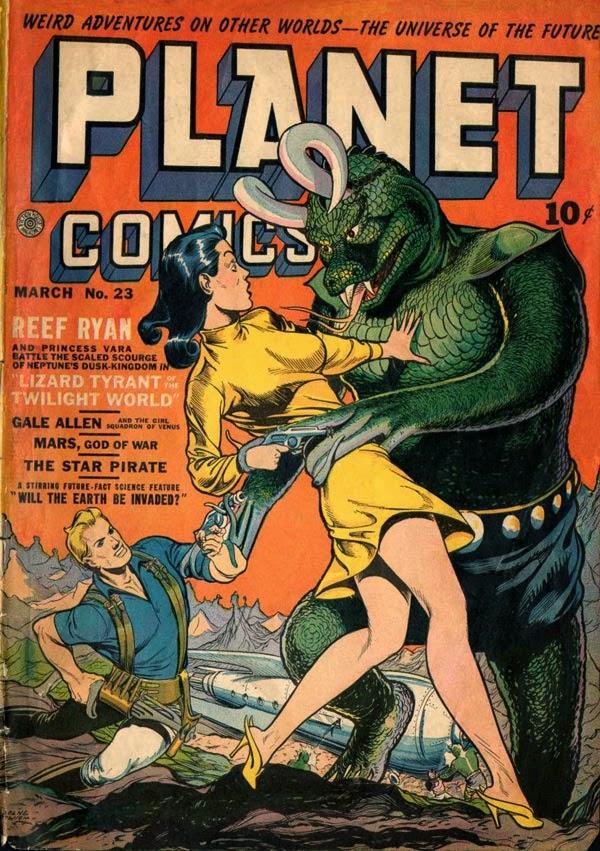 comics de ciencia ficcion de los 80
