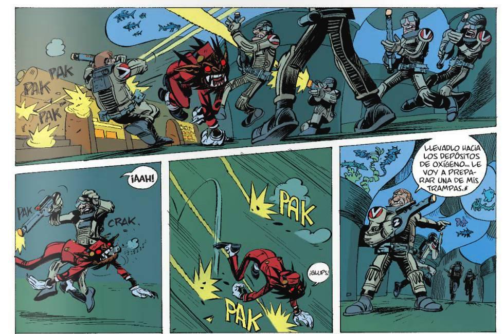 comics de ciencia ficcion largos