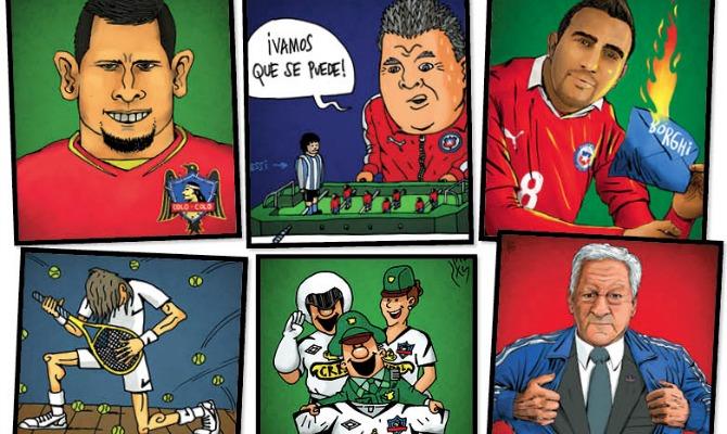 comics de futbol chileno