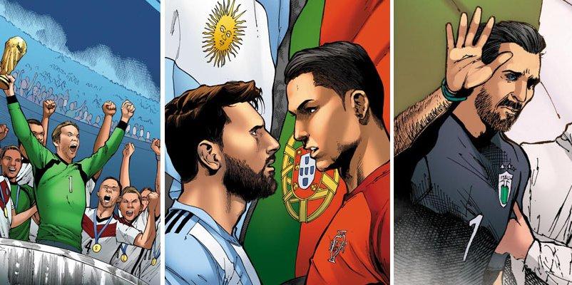comics de futbol famosos