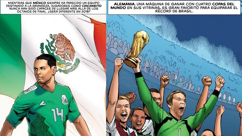 comic de futbol mexicano