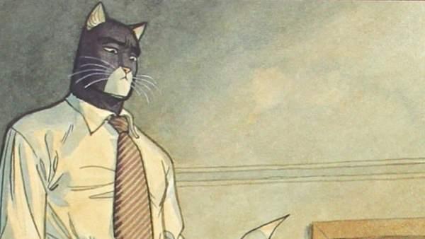 comics de gato detective