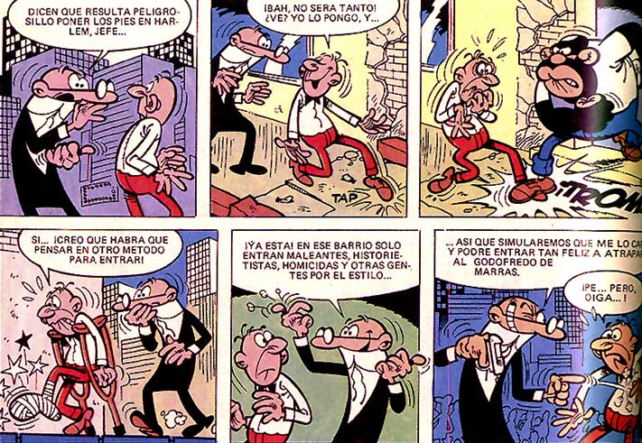 comics cortos de mortadelo y filemon