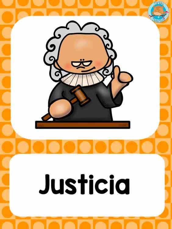 historietas de la justicia