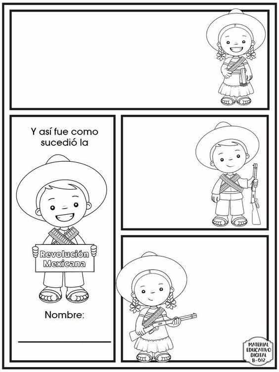 historietas de la revolucion mexicana