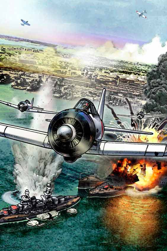 comic de pearl harbor