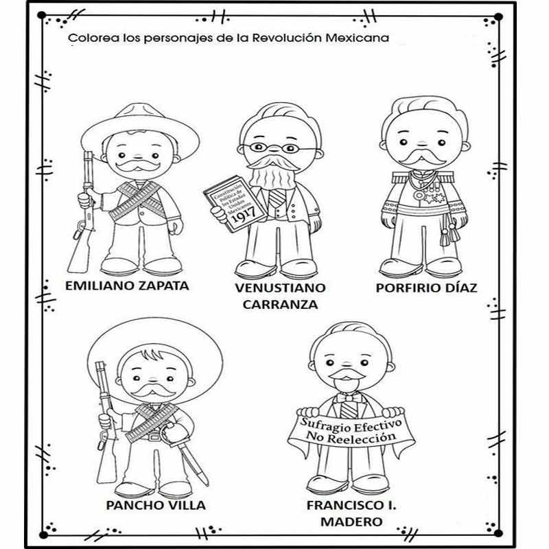 personajes de la revolucion mexicana