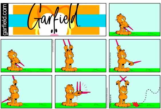 garfield sin dialogos