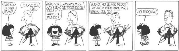 tiras comicas de mafalda en blanco y negro