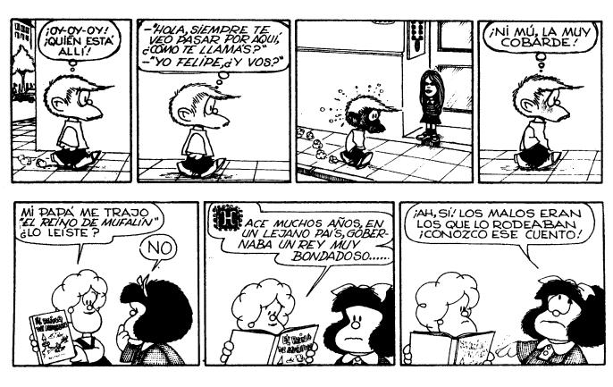 tiras comicas de mafalda