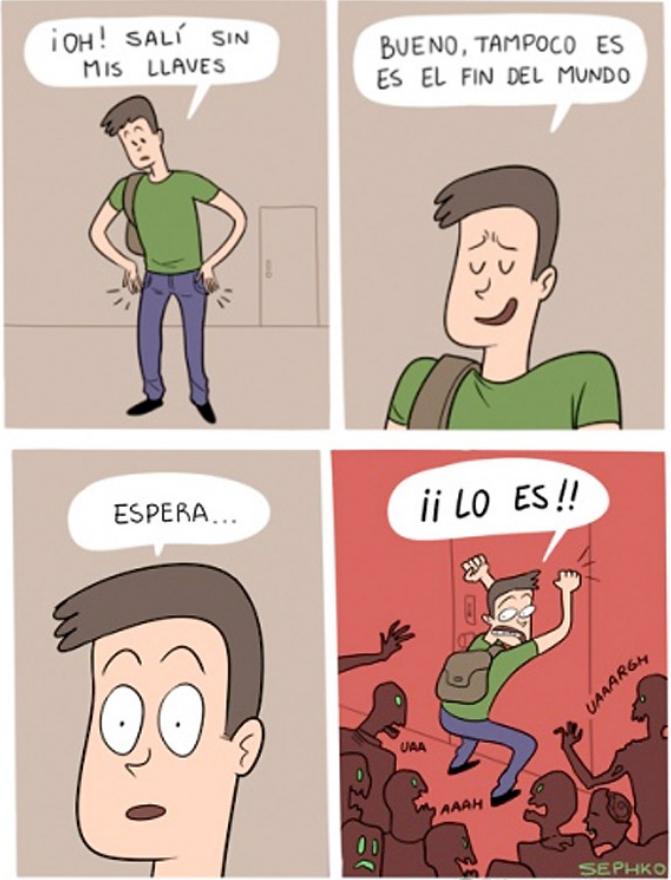 cómics de risa actuales