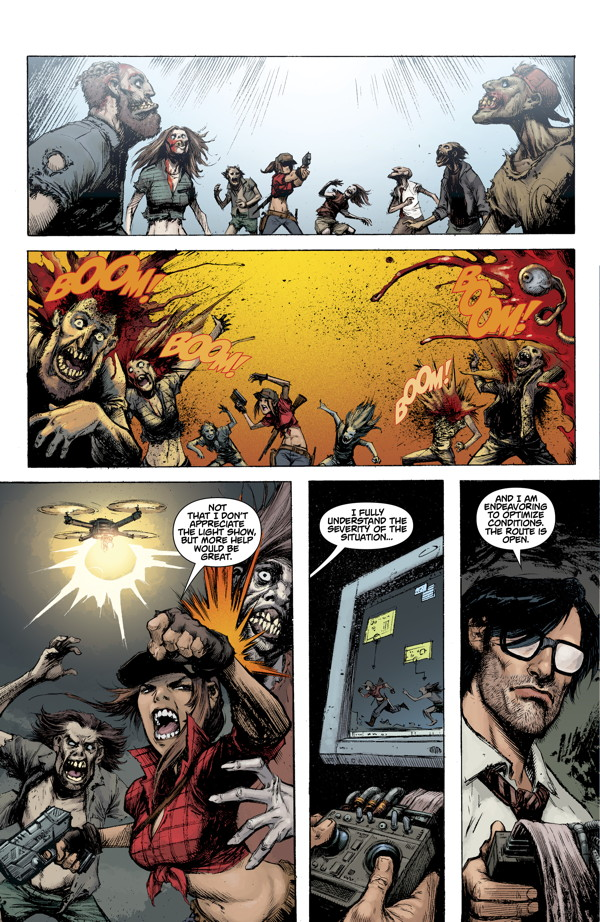 comics de zombies black ops