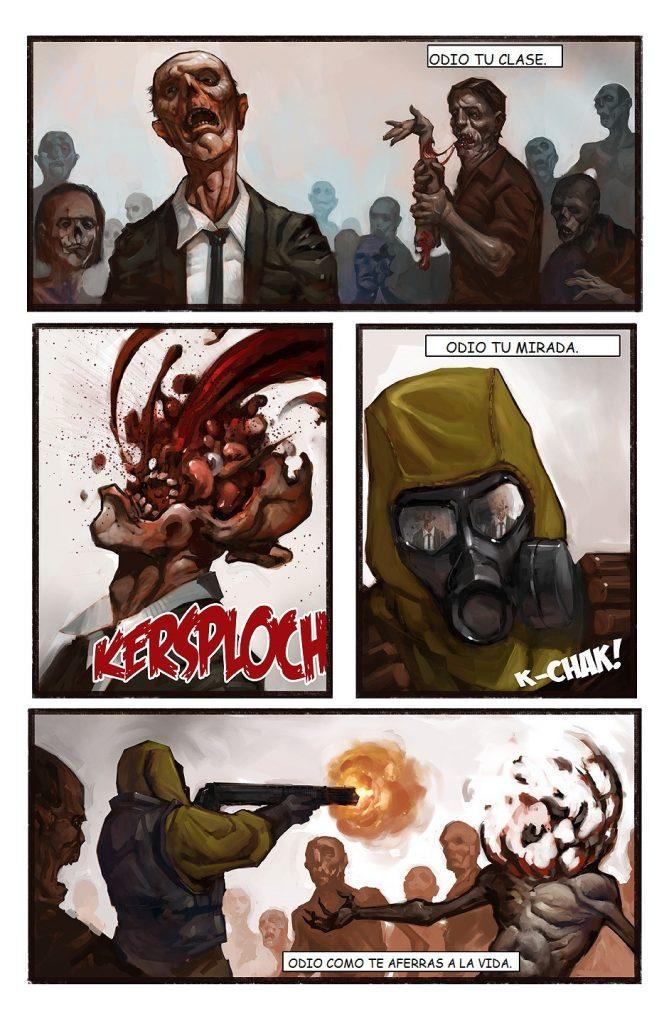 comics de zombies online