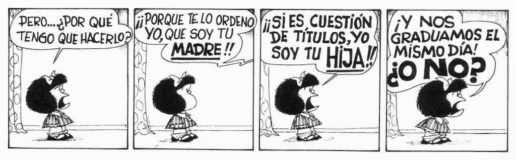 historietas con onomatopeyas de mafalda