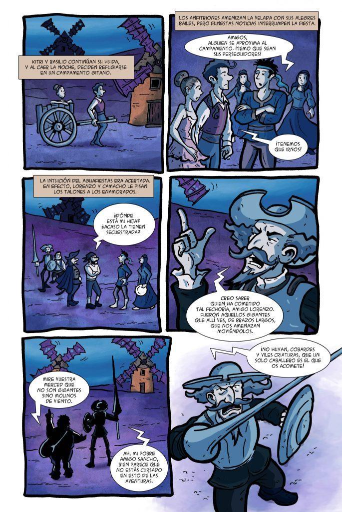 historietas de don quijote de la mancha