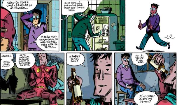 historietas de superheores inventadas