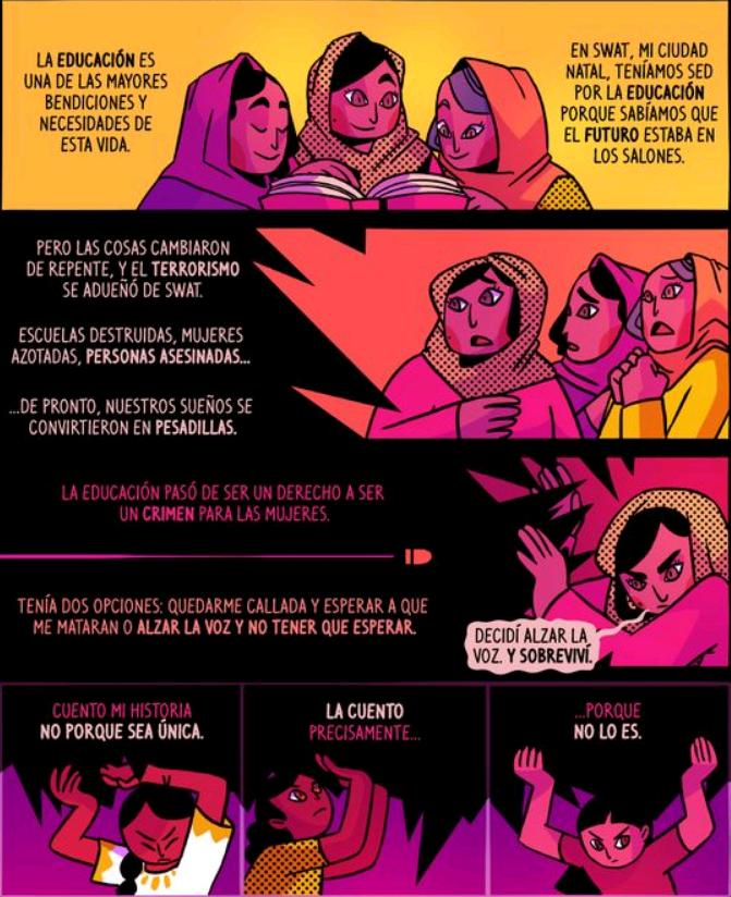 historietas sobre la justicia social