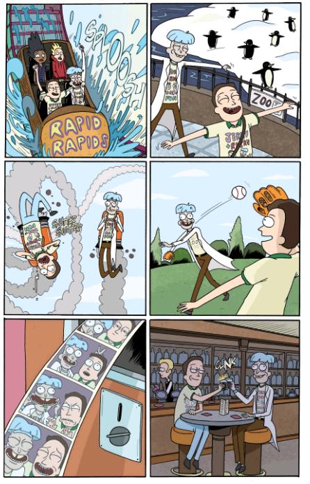 rick y morty comics español online