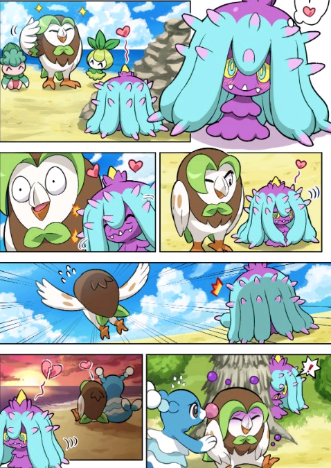 comics de pokemon graciosos en español