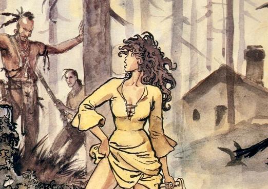 comic de mujeres guerreras