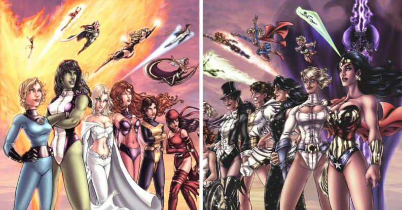 comic de mujeres heroinas