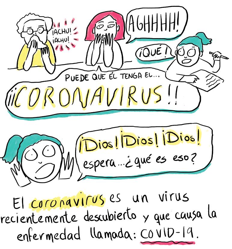historietas sobre el coronavirus