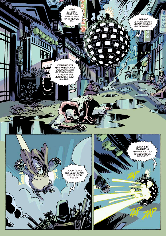 comics de umbrella academy español