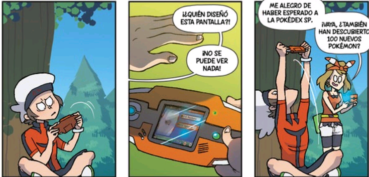 comics de pokemon go